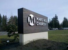 Monument Signs Redmond, Bellevue, Woodinville, WA