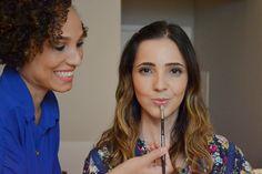 Maquiagem - arrase na boca!!! | A Melhor Escolha | Veja como é possível valorizar os lábios e não deixar a boca apagada, mesmo usando um batom nude.