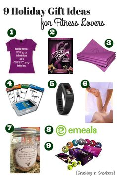 I know I sometimes struggle with gifts for fitness lovers, but this gift guide roundup has great ideas for friends & family!