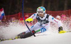 Stefano Gross trionfa nello slalom di Adelboden #gross #slalom #sci #adelboden