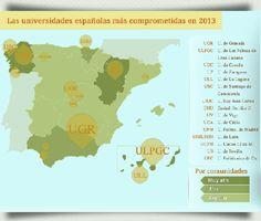 Ranking de Universidades Españolas en #SoftwareLibre #Infografía 2013http://www.portalprogramas.com/milbits/informatica/ranking-universidades-espanolas-software-libre-2013.html
