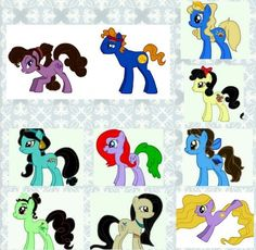 Disney Ponies