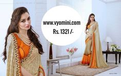 #VYOMINI - #FashionForTheBeautifulIndianGirl #MakeInIndia #OnlineShopping #Discounts #Women #Style #EthnicWear #OOTD #Onlinestores  Only Rs 1676/-, get Rs 355/- #CashBack, ☎+91-9810188757 / +91-9811438585 ..... #Bipasha
