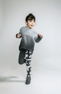 Omamimini ombre sweatshirt - bitteshop.com
