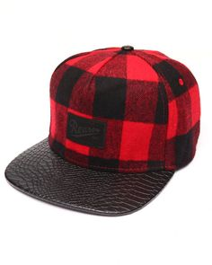 ffe4647862e Find WOODSMAN BUFFALO PLAID SNAPBACK Men s Hats from Reason  amp  more at  DrJays. on