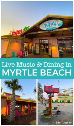 Looking for an easy night out with your kids in North Myrtle Beach during your family vacation? They have nightly live music and an enormous sand pit for the kids to play in outside! Best Family Beaches, Best Family Vacation Spots, Beach Vacation Packing List, Spring Break Vacations, Myrtle Beach Vacation, Disney Vacation Planning, North Myrtle Beach, Family Travel, Vacation Ideas