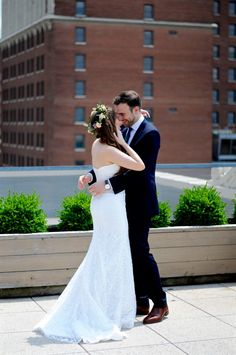 History and High Heels: Kansas City Downtown Rooftop Wedding