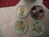 Mother's day plates, lot of 4, Avon FREE-SHIPPING