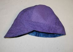 Welding cap pattern & instructions