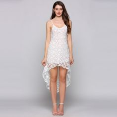 LETEOO Ladies Hollow Out Flare Lace Cami Dress Spaghetti Strap Sleeveless Sexy Deep V Neck Asymmetrical Cross A-Line Dress Ab15 * This is an AliExpress affiliate pin.  Item can be found on AliExpress website by clicking the VISIT button