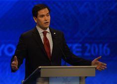 Marco Rubio's 'Robotic' Debate Threatens Heart of Campaign