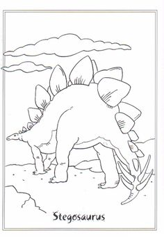 printable dinosaur coloring pages | party rocking | pinterest - Childrens Coloring Pages Dinosaurs