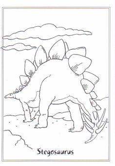 Ausmalbild Dinosaurier 2 stegosaurus auf Kids-n-Fun.de. Auf Kids-n-Fun Sie finden immer die besten Malvorlagen zuerst!