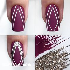 Nail art is a very popular trend these days and every woman you meet seems to have beautiful nails. It used to be that women would just go get a manicure or pedicure to get their nails trimmed and shaped with just a few coats of plain nail polish. Toe Nail Art, Nail Art Diy, Diy Nails, Cute Nails, Sharpie Nail Art, Easy Nail Art, Best Nail Art Designs, Gel Nail Designs, Simple Nail Designs