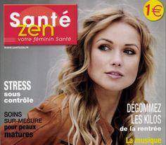 """Capsules d'aromatherapie Smell Box et Diffuseur IRIS - Dans le magazine """"Santé Zen"""" (Nov./Dec. 2014) - En Français."""