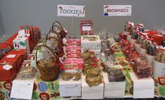 Christmas bake sale---tell mom to look at this site!