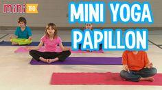 mini yoga papillon