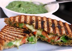 Panini With Assorted Vegetables In Coriander Pesto    Cafe Colombia   Pune