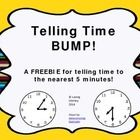 This BUMP game helps students practice telling time within five minutes. This is a variation of the popular BUMP game. FREE  Laminate the game board for...