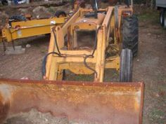 JI Case 380CK industrial tractor photo Tractors and implements Case David Brown Wiring Diagram on
