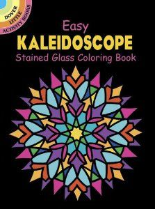 Easy Kaleidoscope Stained Glass Coloring Book (Dover Stained Glass Coloring Book): A. G. Smith, Coloring Books: 9780486441825: Amazon.com: Books