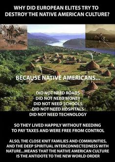 Actually some of the the Native Americans from South America did have roads , accually many did , they had currency and even had ways to commiuniaye using beads Native American Spirituality, Native American Wisdom, Native American History, American Indians, Native American Genocide, American Symbols, American Pride, African History, Native American Indians