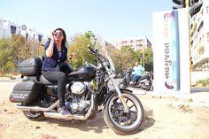 indian lady riding bike 338 - IndiaGirlsOnBike - Women Empowerment Of India