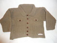 knitted jacket style cardigan age 3-4 £9.00
