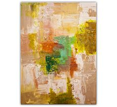 Original Abstract Painting Contemporary Sparkle by OsnatFineArt, $960.00