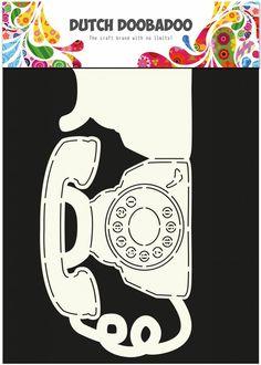 Dutch Doobadoo Dutch Card Art A4 Phone