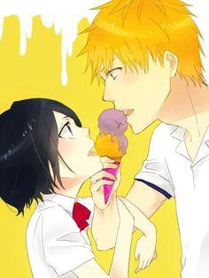 Ichigo&Rukia Bleach