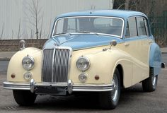 1956 Armstrong-Siddeley Sapphire 346. I love this car....