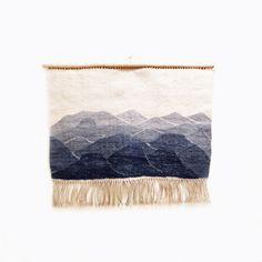 // handwoven tapestry