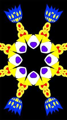 mironart Optical Illusion Gif, Illusion Art, Optical Illusions, Skull Wallpaper, Love Wallpaper, Fractal Design, Fractal Art, Trippy Gif, Peace Art