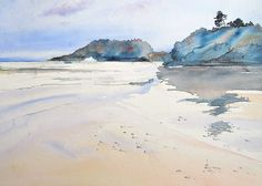 Image result for island watercolor