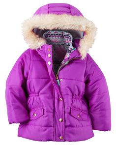 Toddler Girl 4-in-1 Jacket from Carters.com. Shop clothing & accessories from a trusted name in kids, toddlers, and baby clothes.