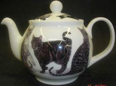 Cat's Galore Bone China Teapot from Roy Kirkham.