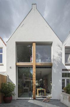 Stretched House par Ruud Visser Architecten