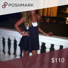 Show me your mu mu can beach dress mini Perfect black dress! Worn once for vacation. Looks great with brown wedges. Selling because I have too many dresses. Show Me Your MuMu Dresses Mini