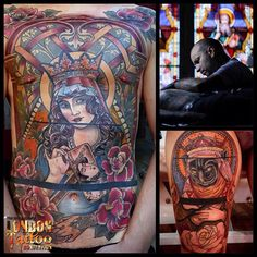 Mikael de Poissy, France will be attending the 11th London Tattoo Convention, 25/26/27 September 2015 Tobacco Dock