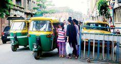 #Police inactive auto causes problem in #Kolkata/#Calcutta