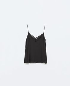 COMBINATION CAMISOLE TOP-Tops-TRF | ZARA United States
