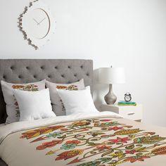 Valentina Ramos Boho Arrows Duvet Cover | DENY Designs Home Accessories