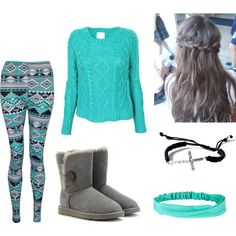 super cute outfits for winter for girls - wish the sweater was a dress