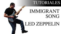 Aprende a tocar Immigrant Song de Led Zeppelin a la guitarra