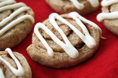 "Homemade ""Cinnamon Bun"" Dog Biscuits 