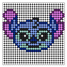 Stitch Perler Bead Pattern / Bead Sprite