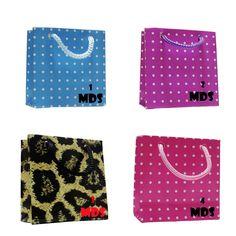 Sacolinha, Embalagem Para Presente, Poa, Zebra, Onça, 100uni - R$ 60,00 no MercadoLivre
