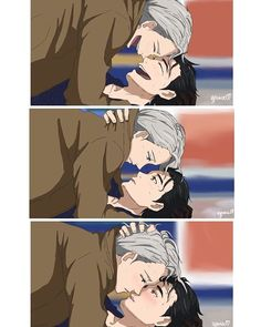 Yuri on Ice Victuri. this anime struck the feels ;-;