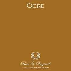 Ocre, one of the Pure & Original colours from the yellow range.